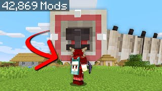 Minecraft, But I Downloaded Every Mod...