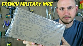 Testing French Military MRE (24Hr Combat Food Ration)