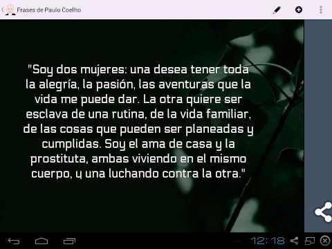 Frases De Paulo Coelho 251 Baixar Apk Para Android Aptoide