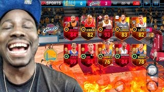 LEBRON SCORES 50 POINTS IN NBA FINALS! NBA Live Mobile 16 Gameplay Ep. 17