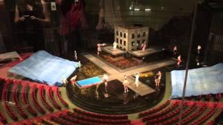 Cirque du Soleil La Nouba backstage tour