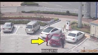 Bật cười với cách xử lý chỗ đỗ xe của 2 chị em phụ nữ Trung Quốc