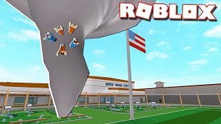 Roblox Adventures - TORNADO DESTROYS THE PRISON! (Roblox Jailbreak)