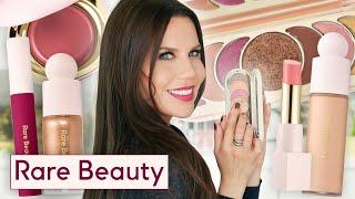 Full Face RARE BEAUTY Makeup Review