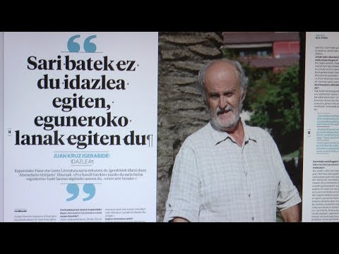 Juan Kruz Igerabide protagonista Tolosaldeko Atariaren astekarian