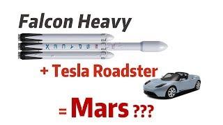 Falcon Heavy's Trip to Mars Explained!