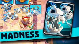 ABSOLUTELY INSANE Skeleton Dragon GAME-MODE in Clash Royale
