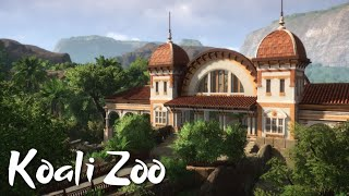 Koali Zoo - Japanese Macaque & Chimpanzee House (Planet Zoo Collab Ep. 18) ft. Mike & Rudi