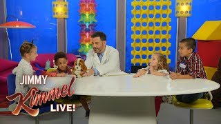 Jimmy Kimmel Tests Bad Toys with Kids