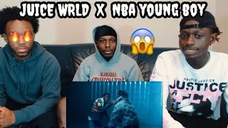JUICE WRLD - BANDIT FT. NBA YOUNGBOY REACTION!