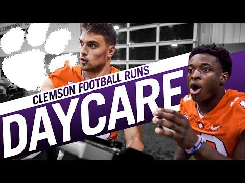 Clemson Football || Player-led Daycare