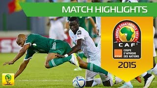 Senegal - Algeria | CAN Orange 2015 | 27.01.2015