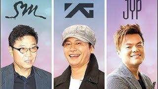SM Entertainment VS YG Entertainment VS JYP Entertainment