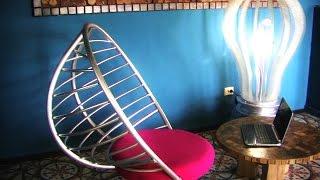 How to make a cool chair. Как сделать крутое кресло.