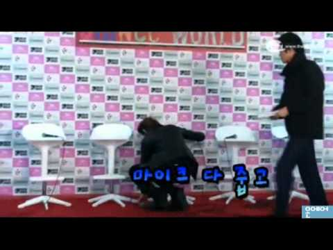 110102 SHINee Onew condition @ SHINee 1st Concert in Seoul press conference