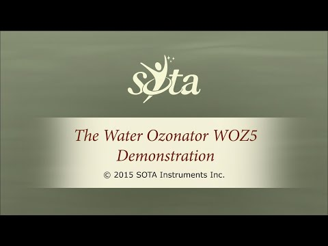 The SOTA Water Ozonator Model WOZ5