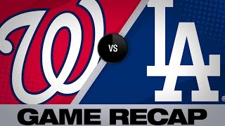 5/10/19: Pederson, Maeda lead Dodgers past Nationals