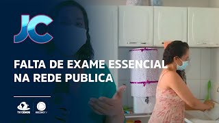 Falta de exame essencial na rede publica
