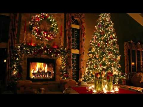 Classic Christmas Music with a Fireplace and Beautiful Background (Classics) (2 hours) (2017)