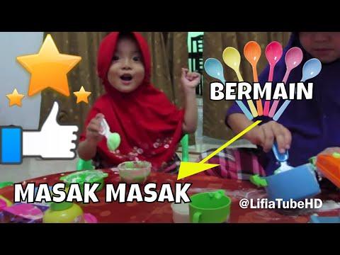 Mainan anak masak masakan  - Lifia Niala Kitchen set for kids  - Belajar Mengenal Warna