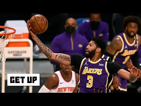 Lakers vs. Knicks highlights and breaking down the Lakers' playoff chances | Get Up