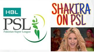 Shakira - Waka Waka (This Time for Africa) (The 2019 HBL PSL™ Song)