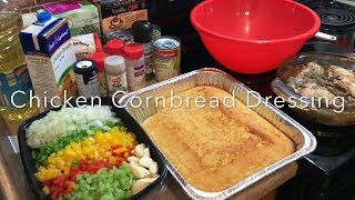 Chicken Cornbread Dressing | Family Recipe | Holiday Cooking