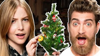Mini Christmas Tree Decorating Challenge