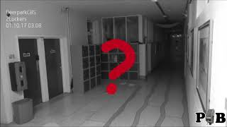 Ghost Caught On CCTV Camera At School In Cork, Ireland (commentary)