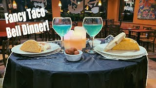 How to make a fancy Taco Bell dinner experience!
