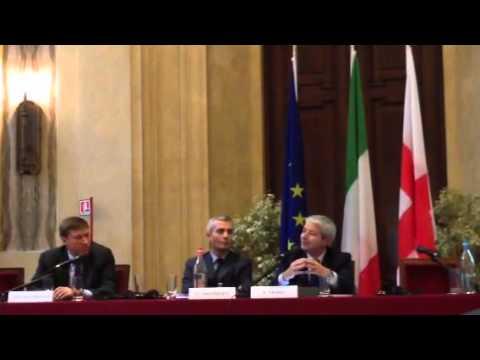 L'intervento di Antonio Naddeo al seminario su match fixing
