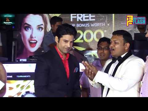 PokerLion Grand Launch By Bollywood Actor Rajeev Khandelwal