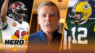 Brady-Rodgers NFL matchup could be greatest of all time; Brees' last game — Tom Rinaldi | THE HERD