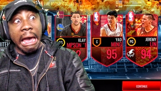 FIRE ROOSTER PACK OPENING & ULTIMATE MASTER JEREMY LIN! NBA Live Mobile 16 Gameplay Ep. 70