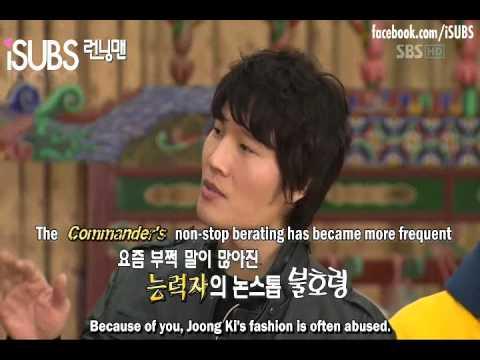 Lee Kwangsoo 100% anger to Kim Jong Kook