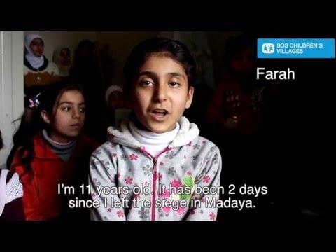 Farah vertelt over de situatie in Madaya