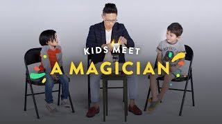 Kids Meet a Magician! | Kids Meet | HiHo Kids
