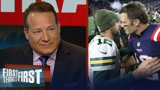 Eric Mangini evaluates Rodgers-LaFleur relationship & Patriots' future | NFL | FIRST THINGS FIRST