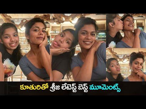 Sreeja Kalyan's cute moments with daughter Nivriti goes viral