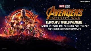 Marvel Studios' Avengers: Infinity War - Red Carpet World Premiere