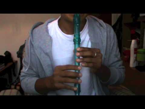 vivir sin aire Mana en flauta dulce