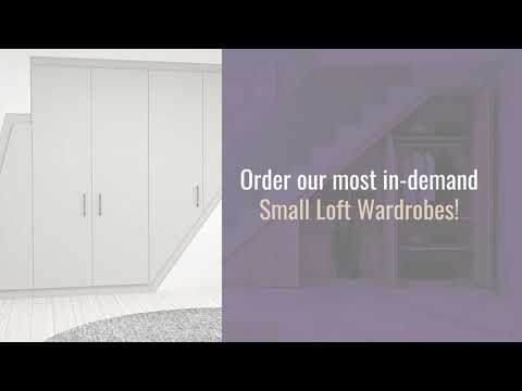 Fitted Loft Wardrobes | Loft Conversion Storage Solution | Order & Get 50% Off | Inspired Elements