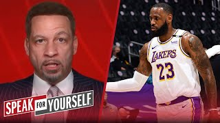 LeBron's return to Lakers should be concerning heading into playoffs | NBA | SPEAK FOR YOURSELF