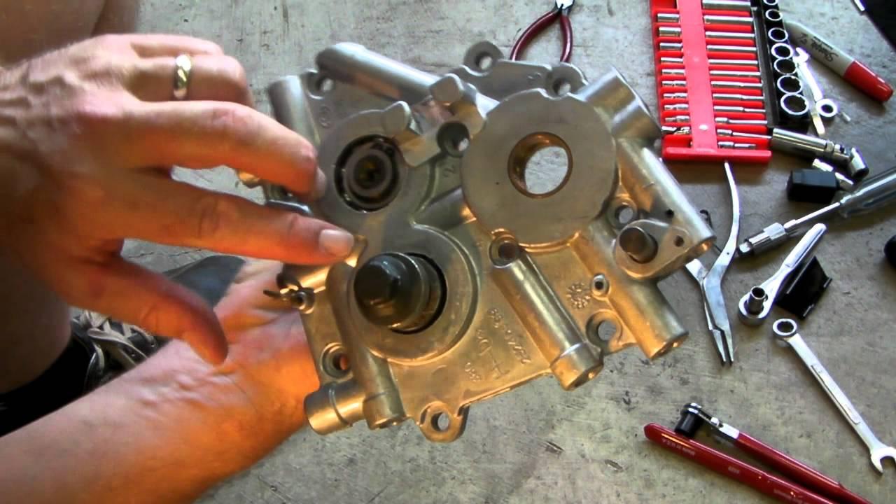 Cam chain maintenance