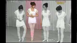 SNSD 少女時代 - Challenge the ballet (Taeyeon.Yoona,Tiffany,Yuri,Sooyoung)