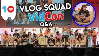 DAVID DOBRIK & VLOG SQUAD Q&A   VIDCON 2019