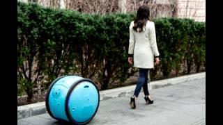 Alışverişlerde Poşet Taşımayı Ortadan Kaldıracak İcat Robot Kargo Taşıyıcı