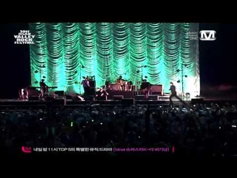 스웨이드 (Suede) - Beautiful Ones (2011 Jisan Valley Rock Festival)
