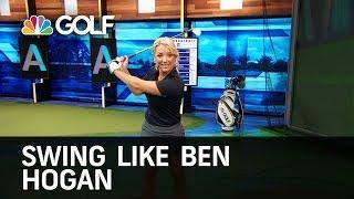 Tips to Swing Like Ben Hogan   Golf Channel