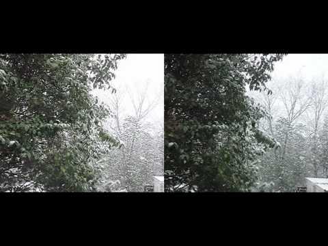 雪 - Snow in 3D